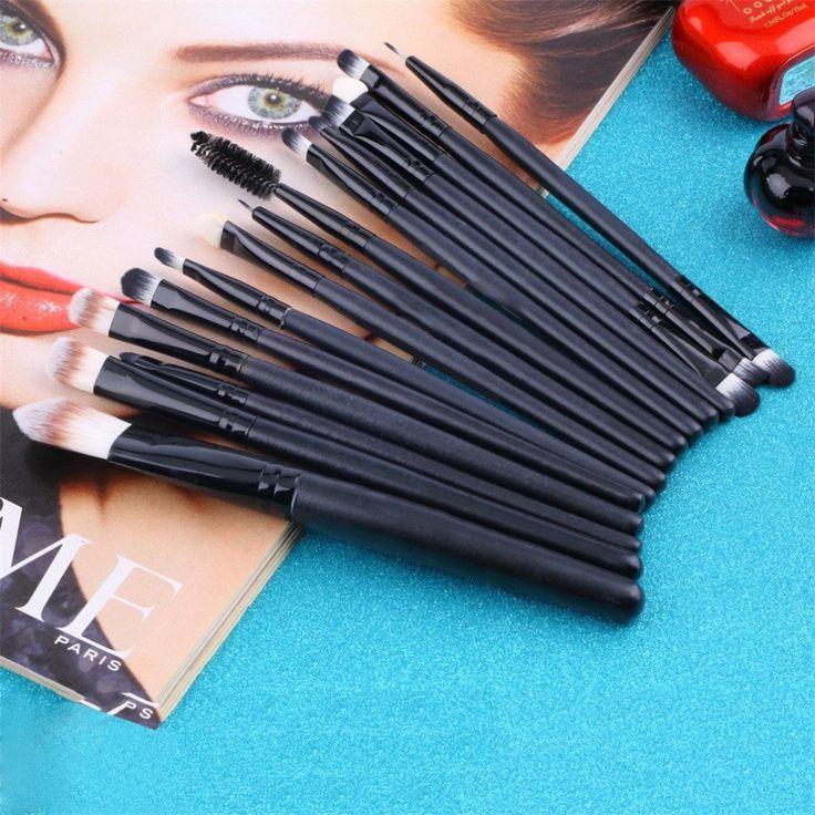 15 pcs/Sets Eye Shadow Foundation Eyebrow Lip Brush Makeup Brushes Tools Cosmetic Kits Make Up Brush Set