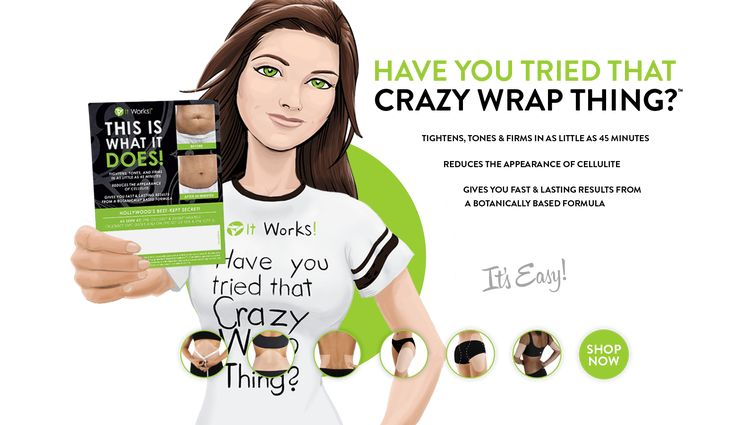 Have You Tried That Crazy Wrap Thing? | It Works!® https://amandaspa.myitworks.com
