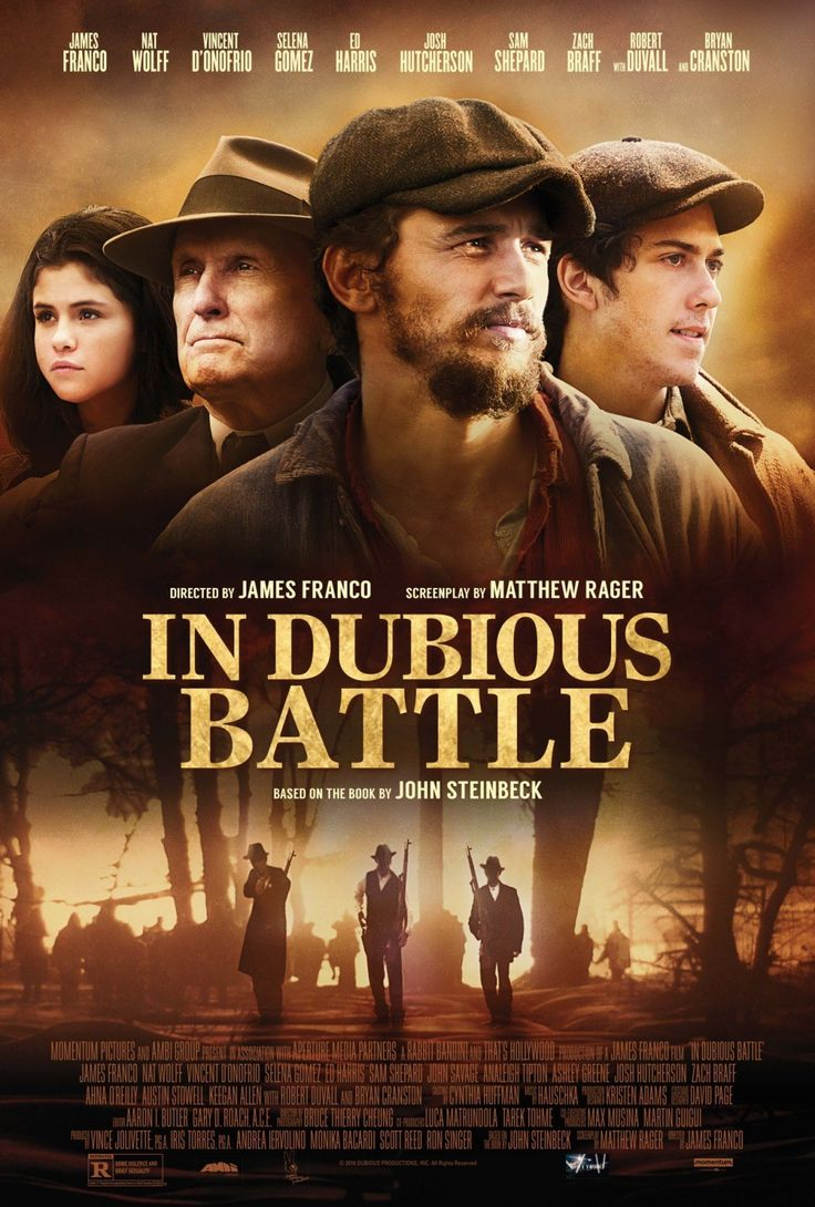 in Dubious Battle american film 2017 directed by James Franco, The film stars are Nat Wolff, James Franco, Vincent D'Onofri. The filmb Released on 17 February 2017. You can Watch Online and Download Full Movie in HD DVDrip 720p video prints for Mobile PC Direct.
