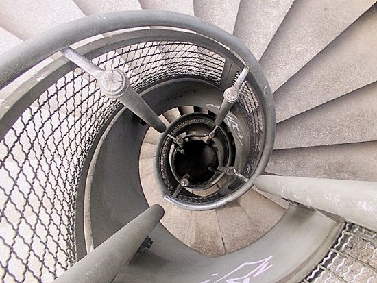 Best 60 Most Beautiful Examples Of Spiral Helical Staircase 400 x 300
