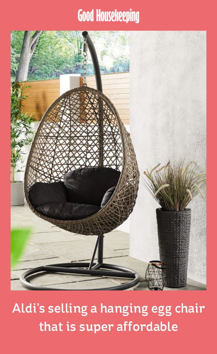 Aldi is selling a hanging egg chair for under £130