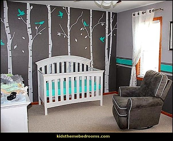 25 best ideas about baby bedroom on pinterest baby room for Baby boy mural ideas