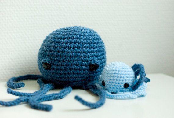 Crochet octopus pattern amigurumi soft toy door SofiaSobeidePatterns