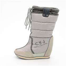 Calvin Klein Grey Women Boot Calvin Klein Gri Kadın Bot