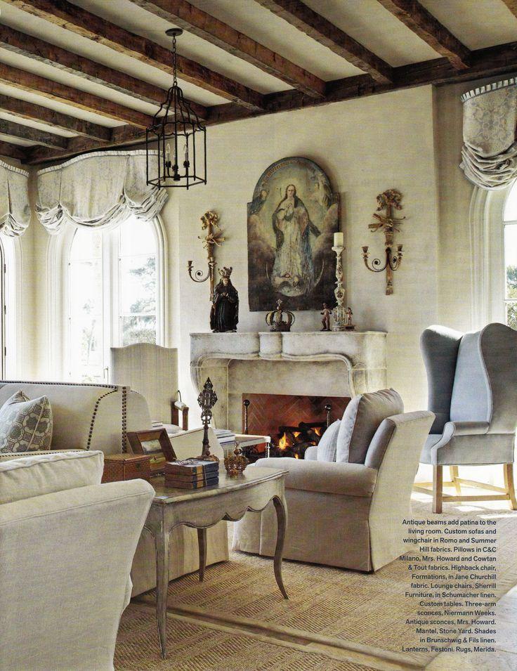 James Michael Howard Florida Living Room, Veranda April 2011