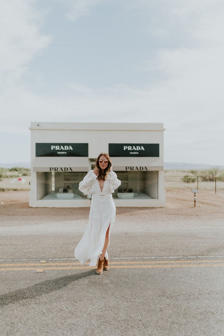 Prada — Gracefully Taylored, Prada Marfa, Texas