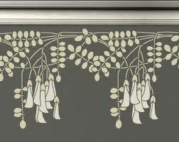 free art nouveau stencil patterns - Google Search