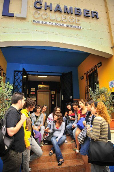 Бесплатные уроки английского на Мальте от Чембер Колледжа Chamber College…