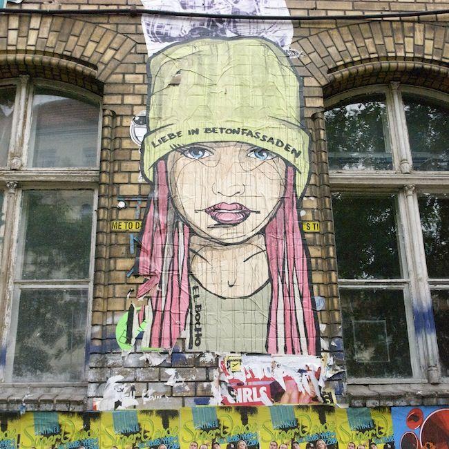 #cassiopeia #streetart #berlin #elbocho #wheatpaste #wallsofberlin #tdckilas