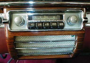 Positive Earth Classic Car Radio
