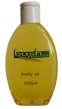 Bush Essentials Body Oil, $35.00 - 100ml.
