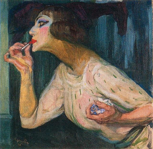 Carmine nr. 1 - 1908 by Frantisek Kupka. Art Experience NYC www.artexperiencenyc.com
