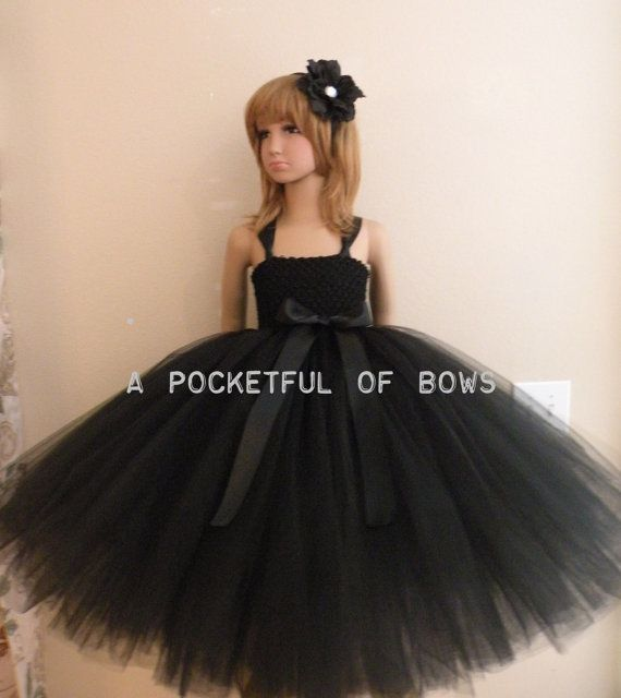 Girls Black Dresses