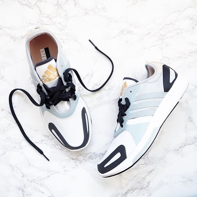 Sweet sneaks. #WorkoutWednesday #adidas by @stellamccartney #aSMC (: @fashionablefit) (Click the link in our bio to shop)