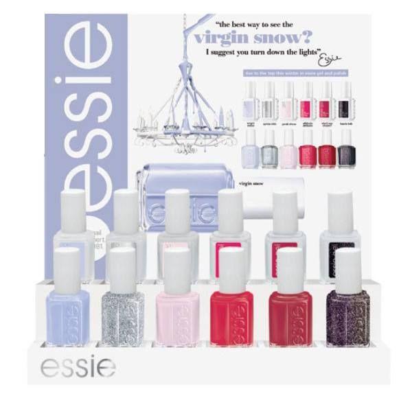 Essie Virgin Snow Winter 2015 Collection