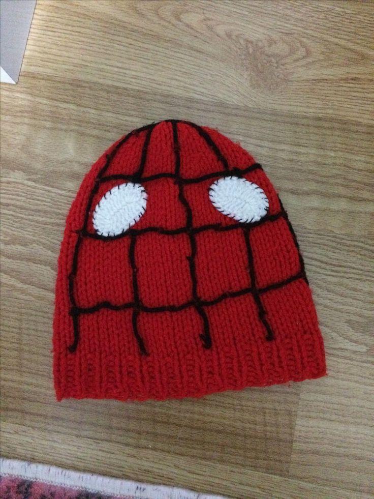 Erkek için spiderman şapka 🙎♂️