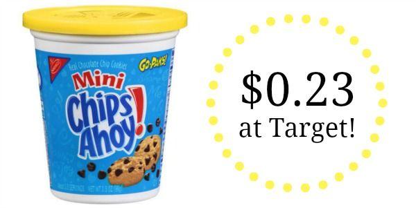 Target: Nabisco Cookies Go-Paks Only $0.23!