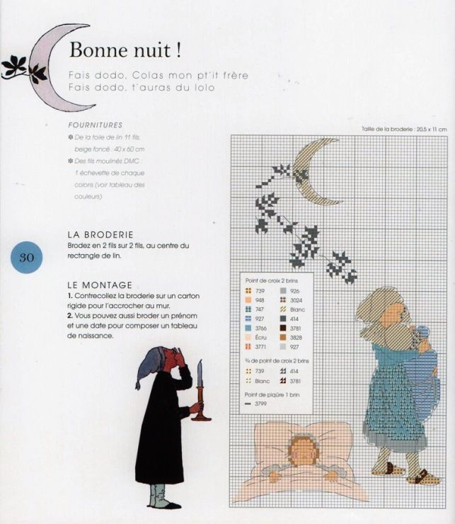 "HELENE LE BERRE Les petites filles modeles ""Bonne nuit"" from 'Les petites filles modeles' by Helene Le Berre"