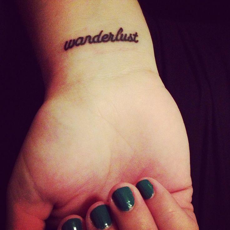 love my simple tattoo :) #wanderlust