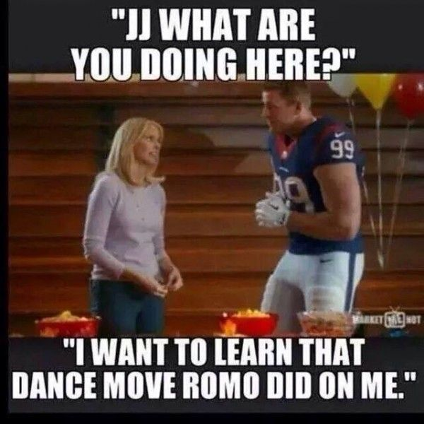 jokes about houston texans jj watt vs cowboys   memes from Cowboys win over Texans (including dancing with J.J. Watt ...
