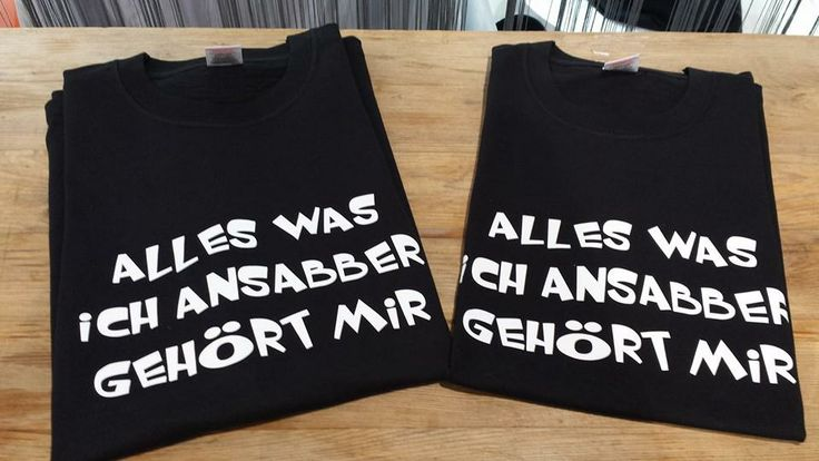 Spruch T-Shirt.....http://www.druckblitz.com