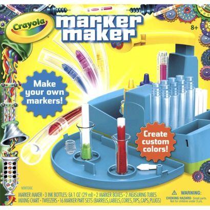 Em is turning 5! Crayola Marker Maker