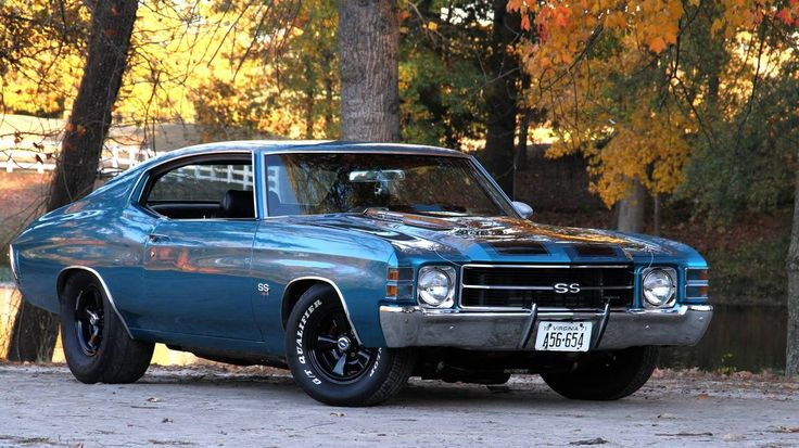 1971 Chevelle SS.  My ex and i rode around in one just like it..