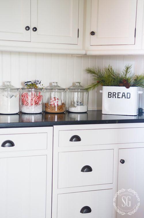 107 best kitchen counter decor images on Pinterest ... on Farmhouse Kitchen Counter Decor Ideas  id=54757
