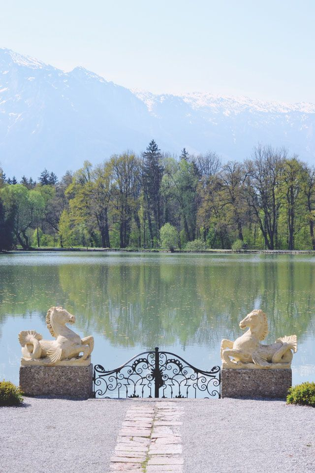 48 Hours in Salzburg // Visiting Leopoldskron in Austria, where The Sound of Music garden scenes were filmed