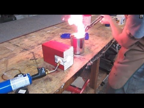 How to heat-treat an O1 knife blade using cheap common tools. - YouTube