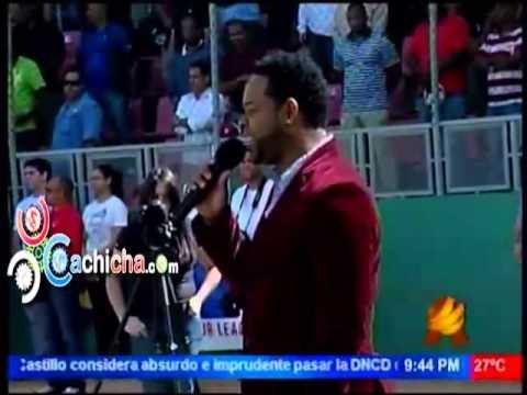 Artista Dominicano Pasa Verguenza Porque No Sabia Cantar El Himno Nacional Dominicano @Zoiladleon #Vidoe - Cachicha.com