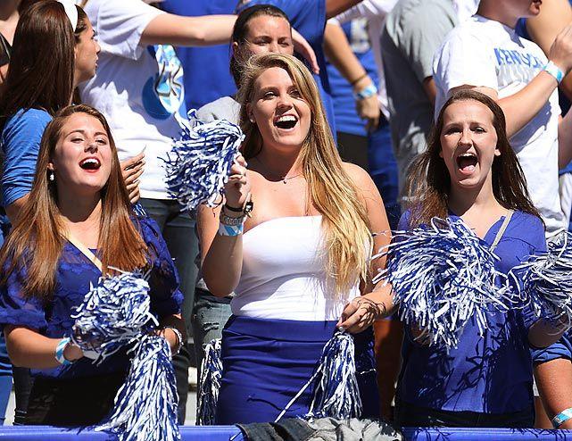 University of Kentucky hot female fans
