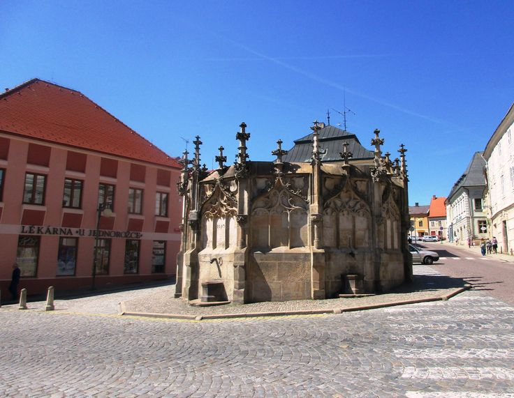 Kamenná kašna - Kutná Hora - Česko