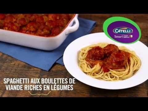 Spaghetti aux boulettes de viande riches en légumes | Catelli