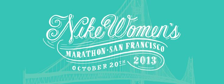 Nike Women's Marathon - For finishing you get a specially designed necklace from Tiffany & Co.