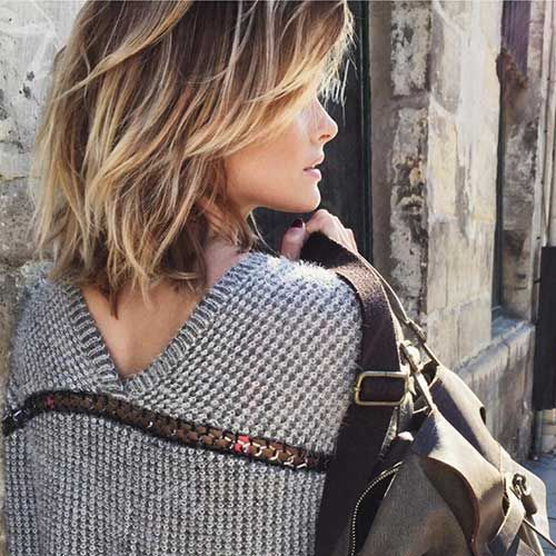 Short Textured Ombre Color Haircut. #Hairstyles