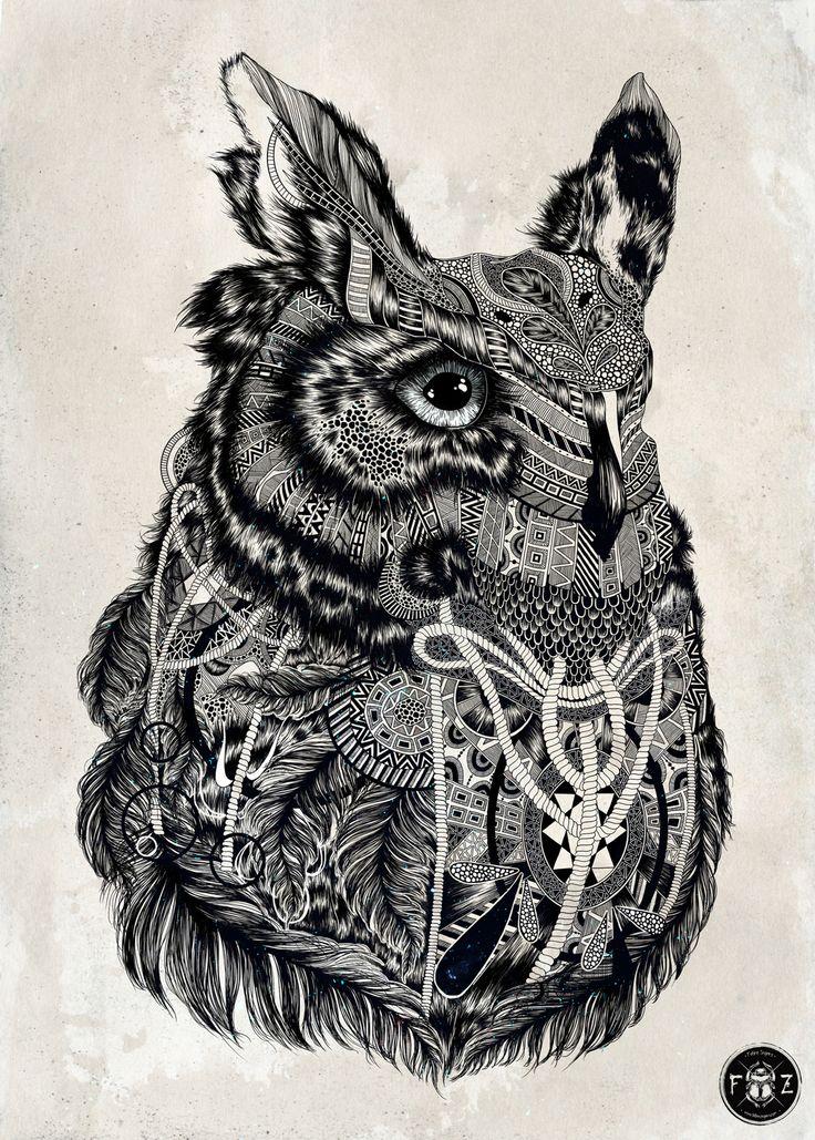 Feline Zegers - Art around the world : http://www.maslindo.com