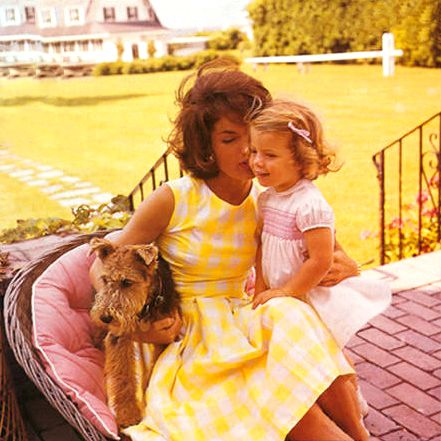 "President Kennedy was once asked to describe his wife in one word. He responded ""MAGICAL."""