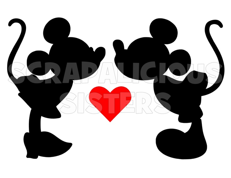 8 Quot Personalized Valentine Themed Mickey And Minnie Mouse