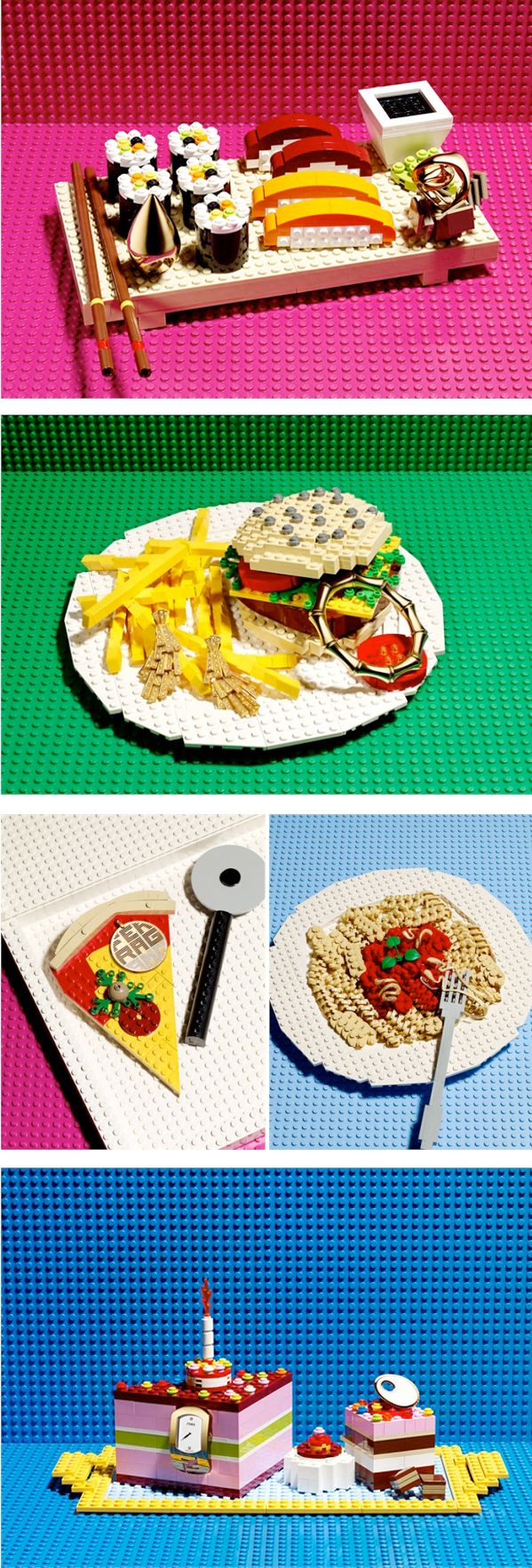 If lego were edible - Vogue's Playful Dream.