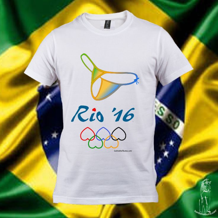 GO BRAZIL Pre-Order your Limited Edition Bombshell Bums Rio 2016 Olympics commemorative T-shirt. Celebrate the Rio Olympics with our Bikini Thong Olympics logo shirt and show your support for Brazils greatest treasure, the Bunda. Our T-shirts are styled, soft, light weight and comfortable. Available in Mens and Ladies styled shirts. FREE SHIPPING! Pre-Order Now: Mens T-shirt: http://www.bombshellbums.com/Rio-2016-Olympics-Logo-Mens-T-shirt Ladies T-shirt…