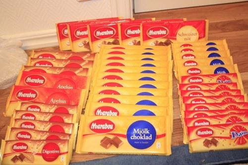 Marabou chocolate