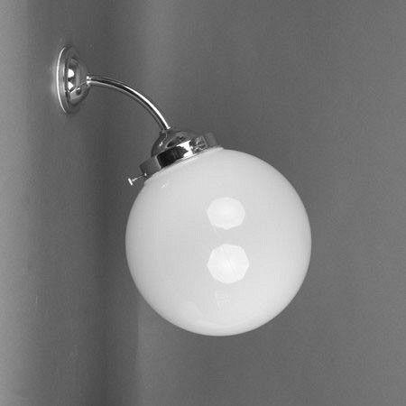 Buitenlamp/Badkamerlamp Bol Ø 20 Breukvrij