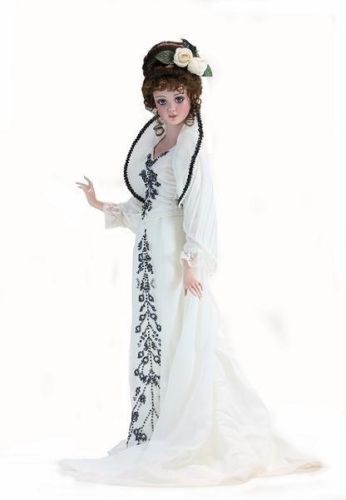 Фарфоровая кукла коллекционная MOLLY BROWN by Jan Mclean - Молли Браун /Титаник