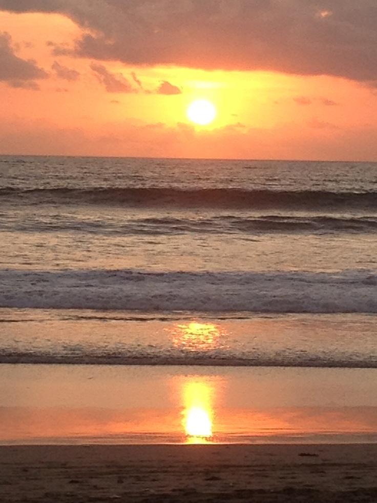 Beautiful Bali sunset.  A magical island where I am current living :)