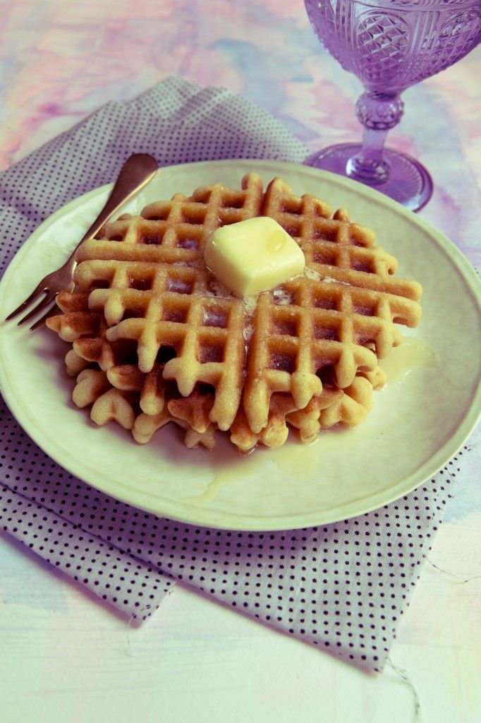 Fluffy Coconut Flour Waffles! (Grain/Gluten/Dairy/Nut Free and Paleo)