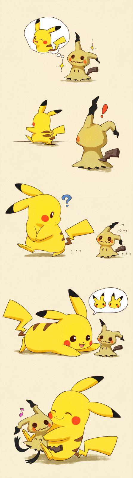 Pikachu and Mimikyu                                                                                                                                                                                 More