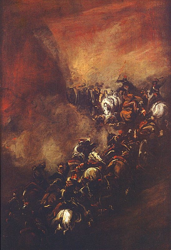 """Piotr Michałowski """"Samosierra"""" (1837), Muzeum Narodowe w Krakowie - Sukiennice"""