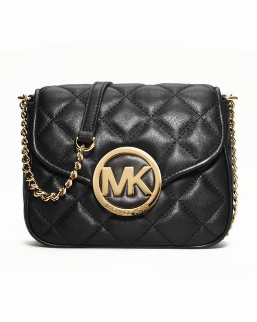 Michael Kors Fulton Gesteppte Crossbody Schwarz deutschland #fashionbag#jewellery|#jewellerydesign}
