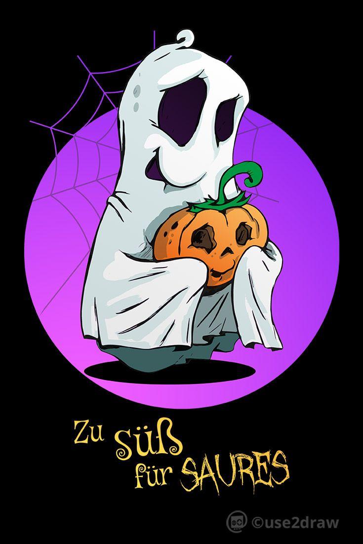Susses Gespenst Lustiges Halloween Shirt Kinder T Shirt Spreadshirt Geist Malen Halloween Geist Lustige Halloween